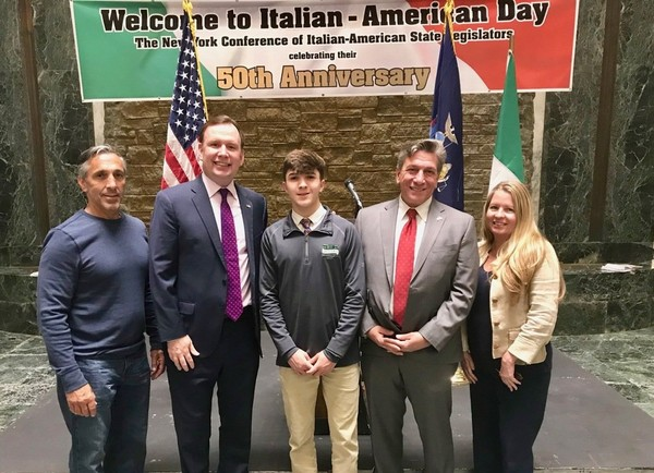 St. Peter's graduate honored by New York Assemblymen