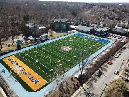 St. Peter's lacrosse team re-opens renovated field with vigor and exuberance
