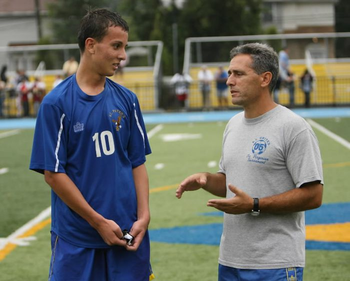 St. Peter's soccer coach John Liantonio approaches career milestone